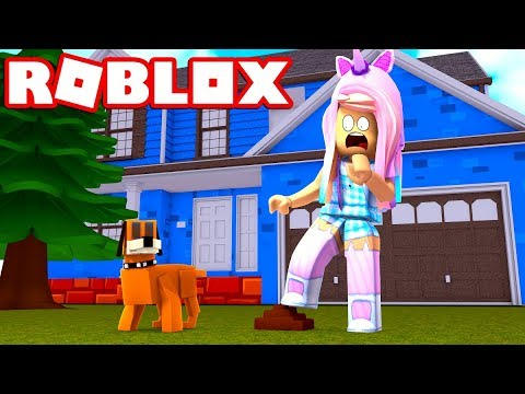 Oh NO! I Got Poop 💩 On My Feet! Growing Up Is Hard! Let's Play Roblox