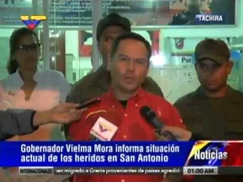 Vielma Mora sobre ataque en el Táchira
