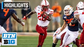 Highlights: Huskers Offense High-Powered in Win vs. Illini Nebraska at Illinois Sept. 21, 2019