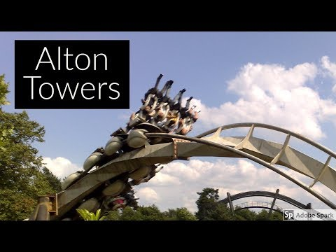 Travel Guide Alton Towers Theme Park Staffordshire UK Pros And Cons Review