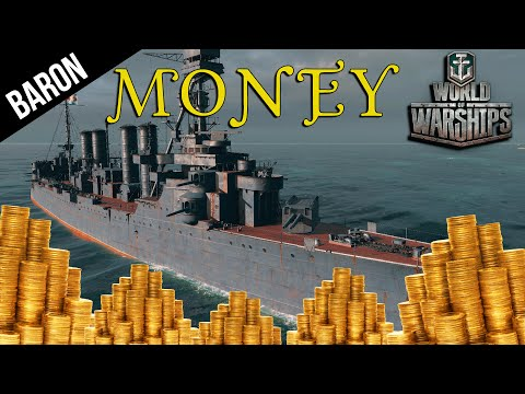 World of Warships Best Ship to Make Money!  Russian Sniper S