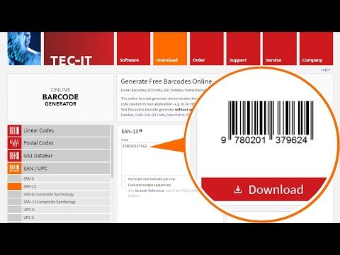 How to Create Free Barcodes With the Online Barcode Generator