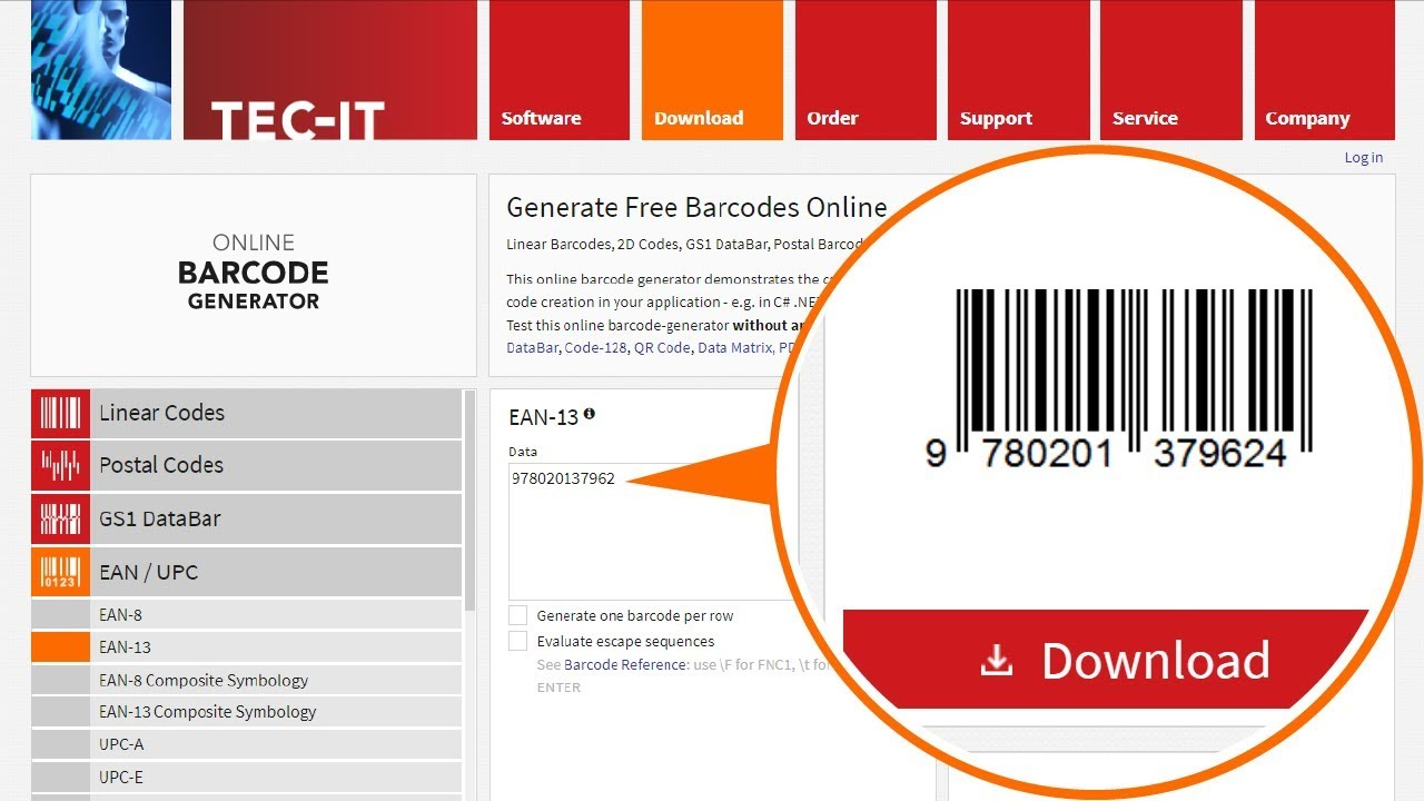 How To Create A Barcode For Free Online Barcode Generator Youtube