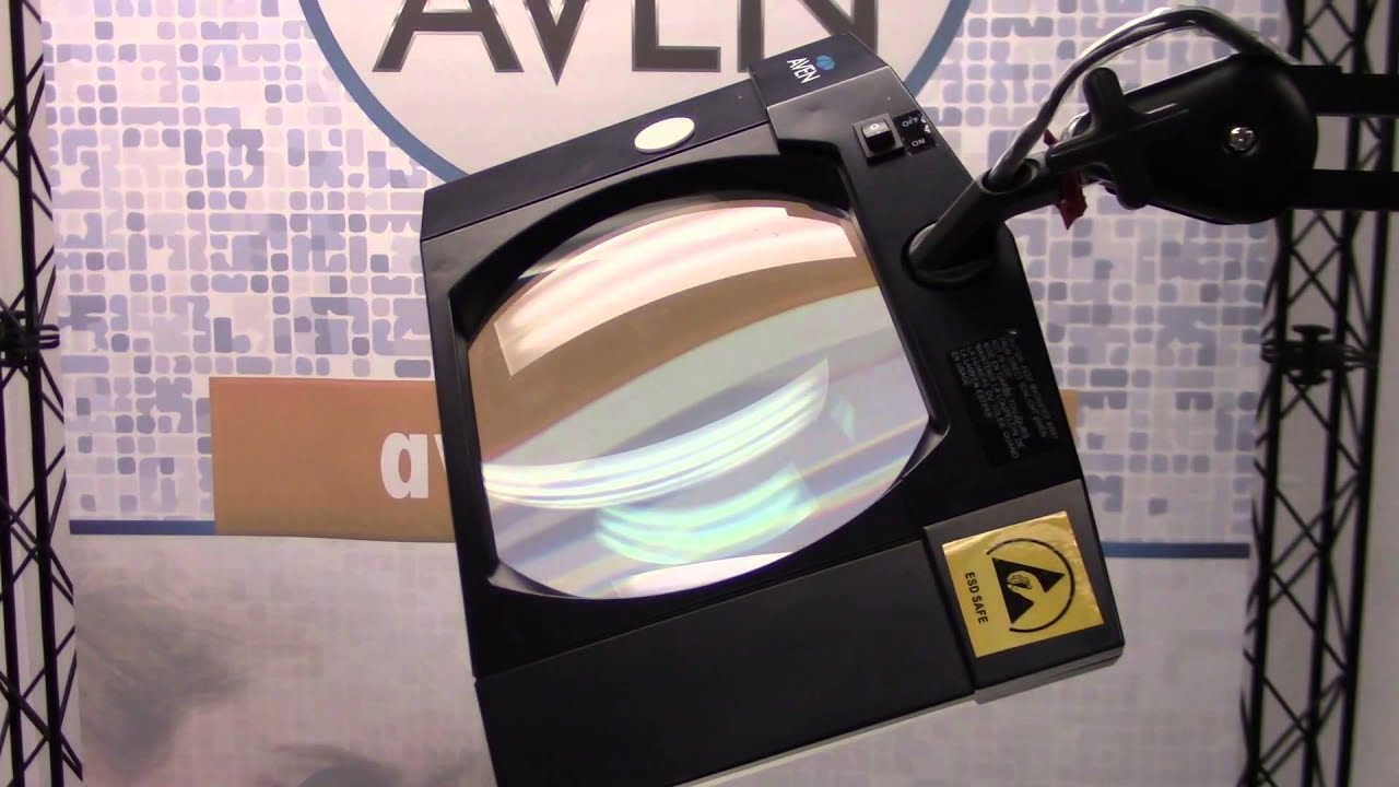 Mighty Vue Magnifying Lamp Led 5d Esd Safe Youtube