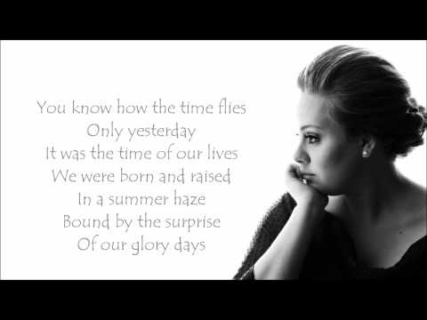 Adele - Someone Like You Lyrics Video
