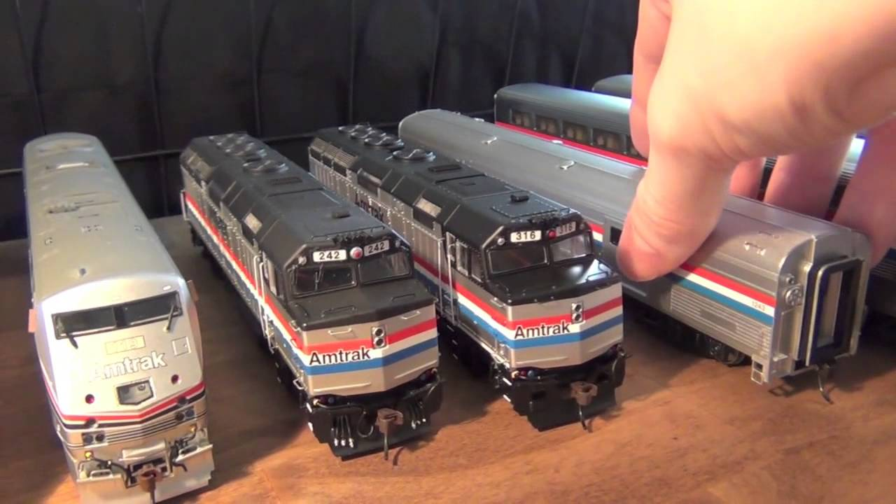 Amtrak Phase 3 Superliners And F40PH YouTube