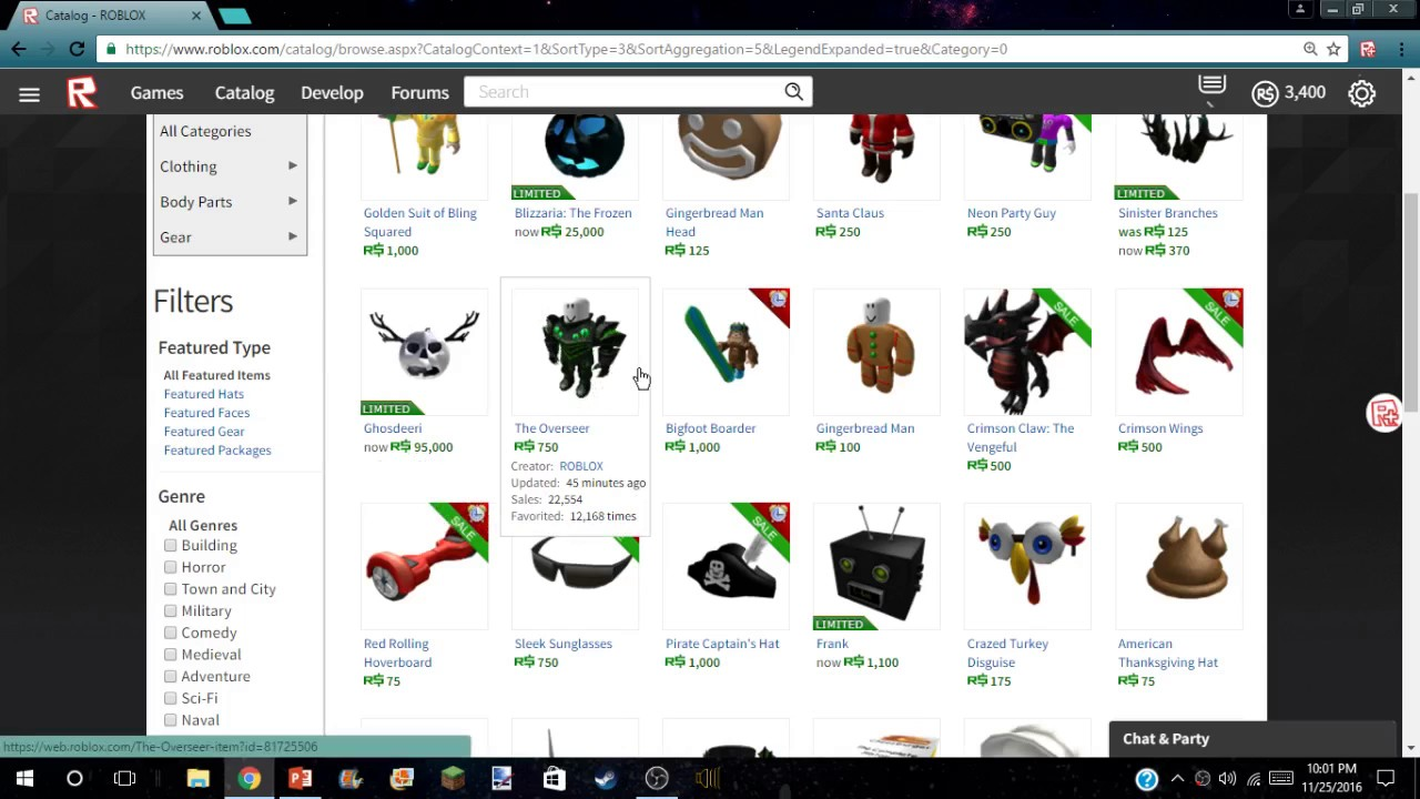 Roblox Black Friday Update Youtube