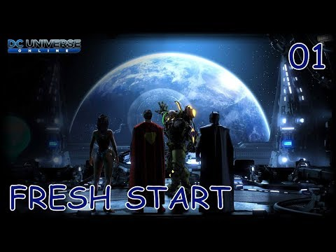 DC UNIVERSE ONLINE Gameplay Walkthrough Part 1 | XBOX ONE X – Fresh Start (No Commentary)