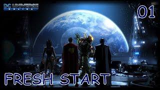 DC UNIVERSE ONLINE Gameplay Walkthrough Part 1   XBOX ONE X - Fresh Start (No Commentary)