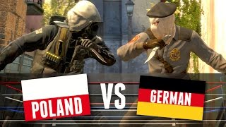 Language Challenge in Counter-Strike! | POLAND vs GERMAN
