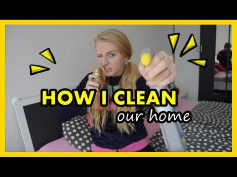 HOW I clean our HOME | Jak a čím uklízím