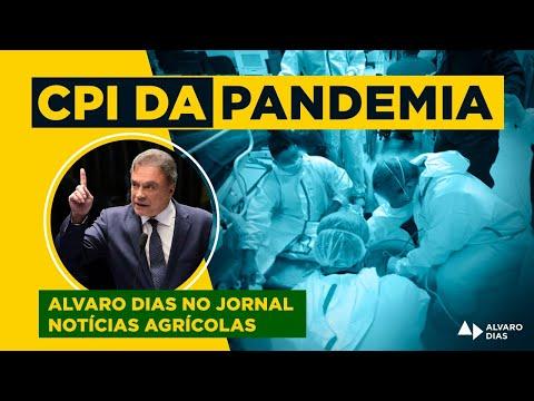Senador Alvaro Dias participa de entrevista para o canal Tempo e Dinheiro