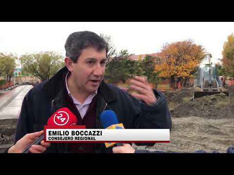 Avances en obras de Plaza de Porvenir . ITV Noticias