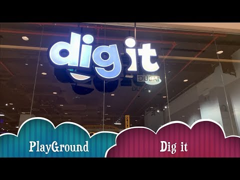 Interactive children's indoor playground in Dubai (Dig It)