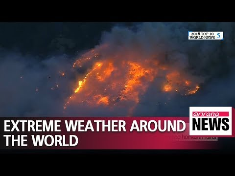 Extreme weather and climate changes around the world