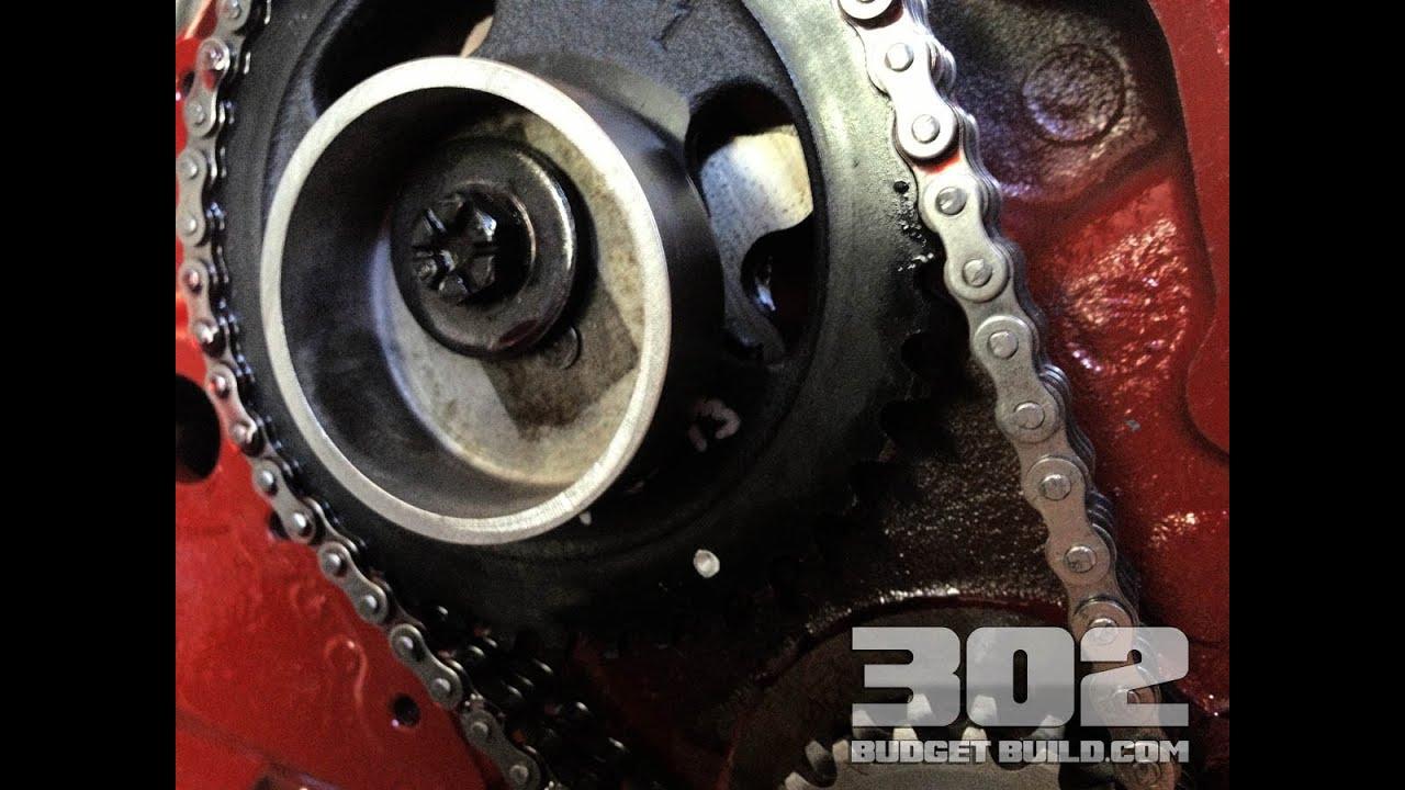medium resolution of fuel pump eccentric small block ford 302 5 0 mechanical fuel pump youtube
