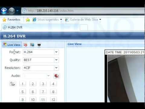 Monitoreo por internet de camaras de vigilancia parte 1 - Camaras de vijilancia ...