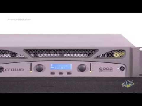 Crown XTI6002 Power Amplifier - Crown XTI6002