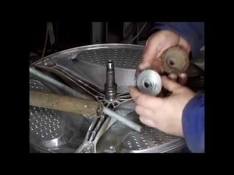 Новый съёмник подшипников.  Восстановление вала стиральной машины.