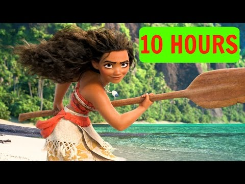 10 HOURSLYRICS How Far Ill Go  Aulii Cravalho ORIGINAL  Loop