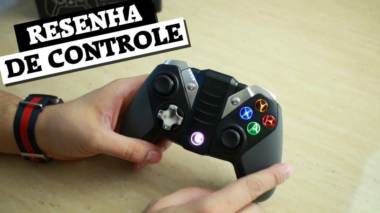 Resenha do controle GameSir G4 (Bluetooth e 2.4ghz)