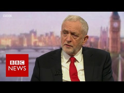 "Jeremy Corbyn: Launching strikes on humanitarian grounds ""legally debatable"" - BBC News"