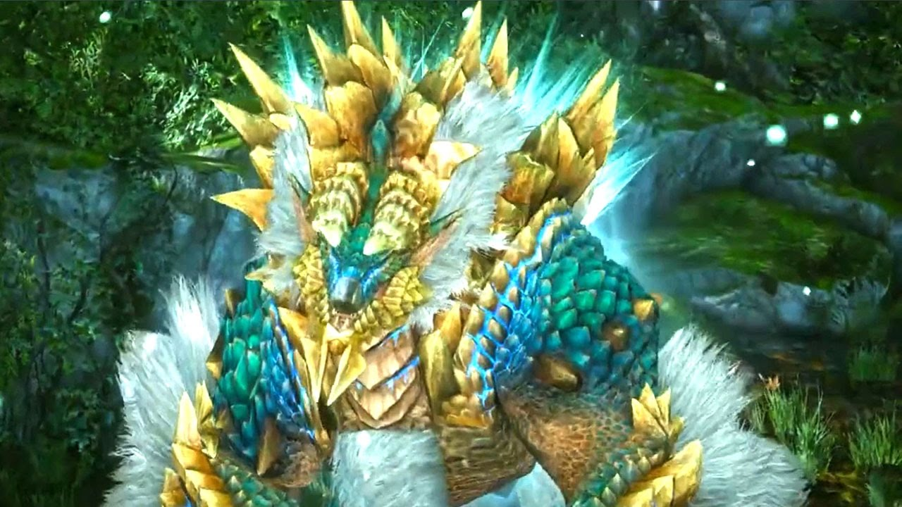 Monster Hunter Online New Monster Zinogre Official Intro
