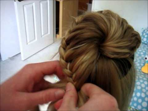 Lace Braided Bun YouTube
