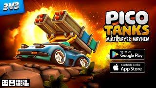 Пико-танки: многопользовательский хаос