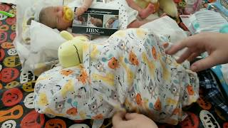 Box Opening Reborn Baby Doll - Beautiful Life Like Doll - Prototype Reborn Baby