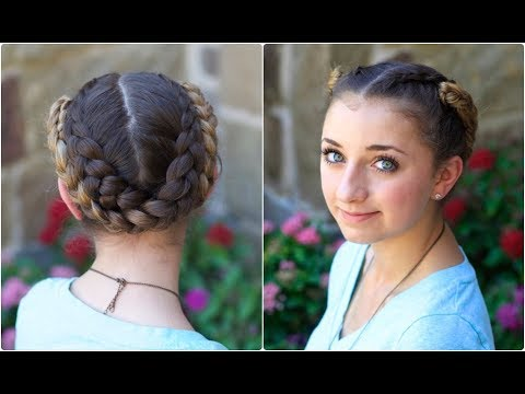 Fold-Up Braids | Back-to-School Hairstyles - YouTube