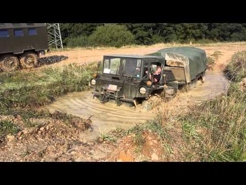 Schmidtenhöhe 2014: Gama goat Bilgepumpentest