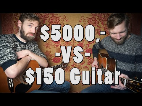 $5000,- VS $150,- guitar | Sound Comparison | Martin D-42 |