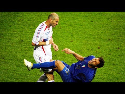 Zidane VS Materazzi-Wild Moments