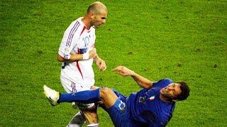 Zidane VS Materazzi-Wild Moments