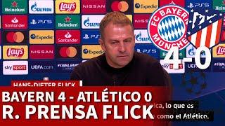 BAYERN 4 - ATLÉTICO 0 | FLICK, rueda prensa CHAMPIONS LEAGUE | DIARIO AS