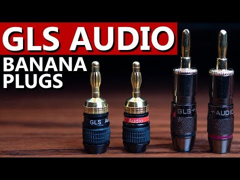 Best Banana Plugs 2018 | GLS Audio Black Chrome And Safe-Connect