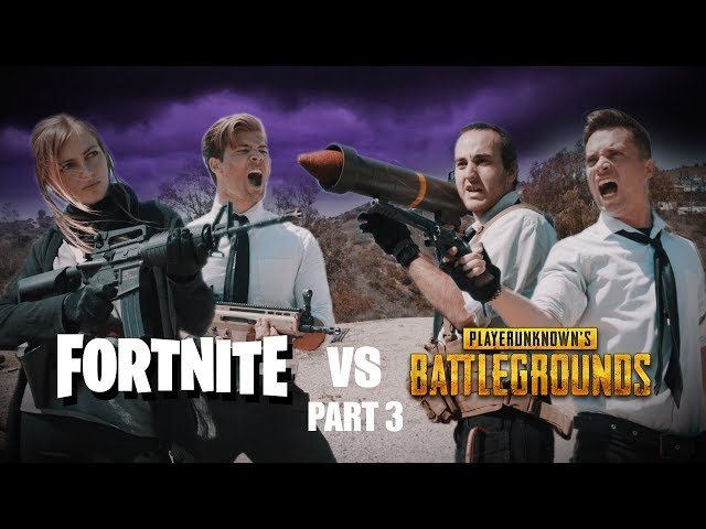 Fortnite vs PUBG 3