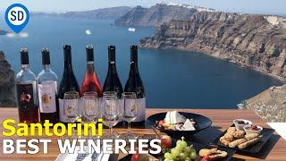 Santorini 3 Best Wineries to Visit