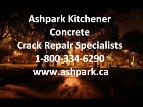 Kitchener Concrete Crack Repair Basement Foundation Epoxy Polyurethane Specialists