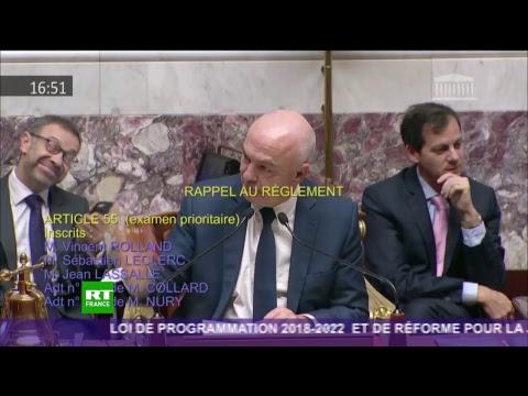 Edouard Philippe devant l'Assemblée nationale après l'adresse à la nation d'Emmanuel Macron
