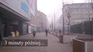 Smród i dym w Katowicach. Ludzie palą w piecach czym popadnie