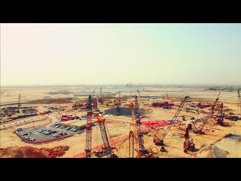 Deep foundations of the Dubai Creek Tower
