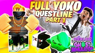 Ghost Simulator YOKO Questline Teil 1 Quests für HIDDEN SECRET 👻 Roblox Ghost Simulator Update 12