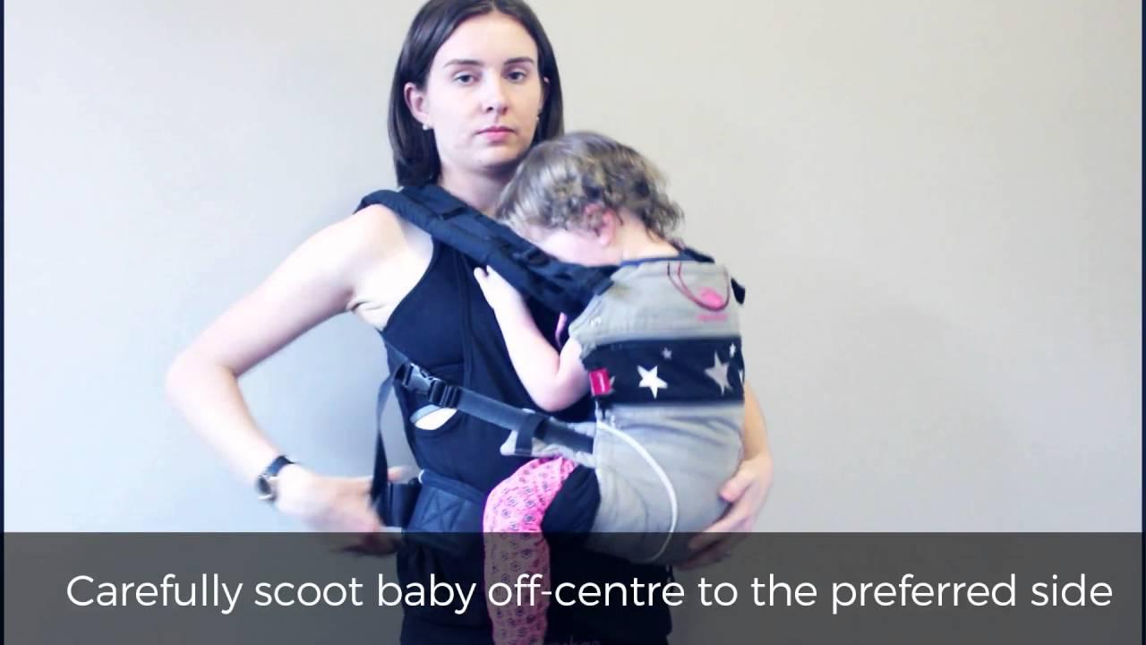 a5551c03177 Tutorial  Babywearing   Breastfeeding - YouTube