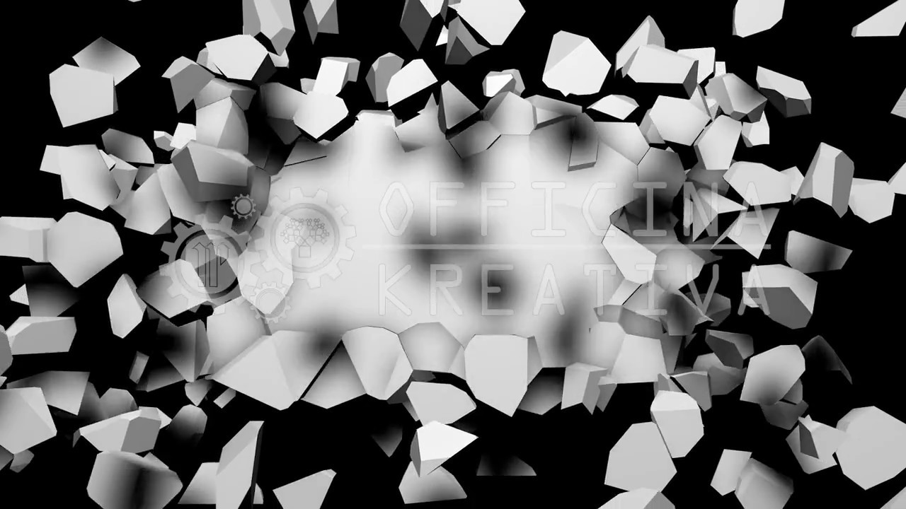 8 FRACTURE Vol 1 - 3d VJ LOOP - Video Mapping - background - Transition