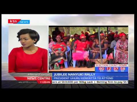 News Centre: Jubilee Nanyuki Rally - 19/05/2017