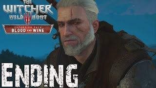 The Witcher 3 Blood and Wine Ending and Final Boss Fight (Bonus Ciri Ending Scene)