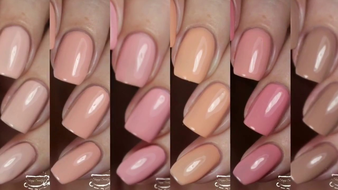 Swatches | The Exposed Collection by LeChat Nails - YouTube