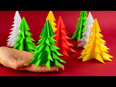 Что можно сделать из цветной бумаги на новый год своими руками